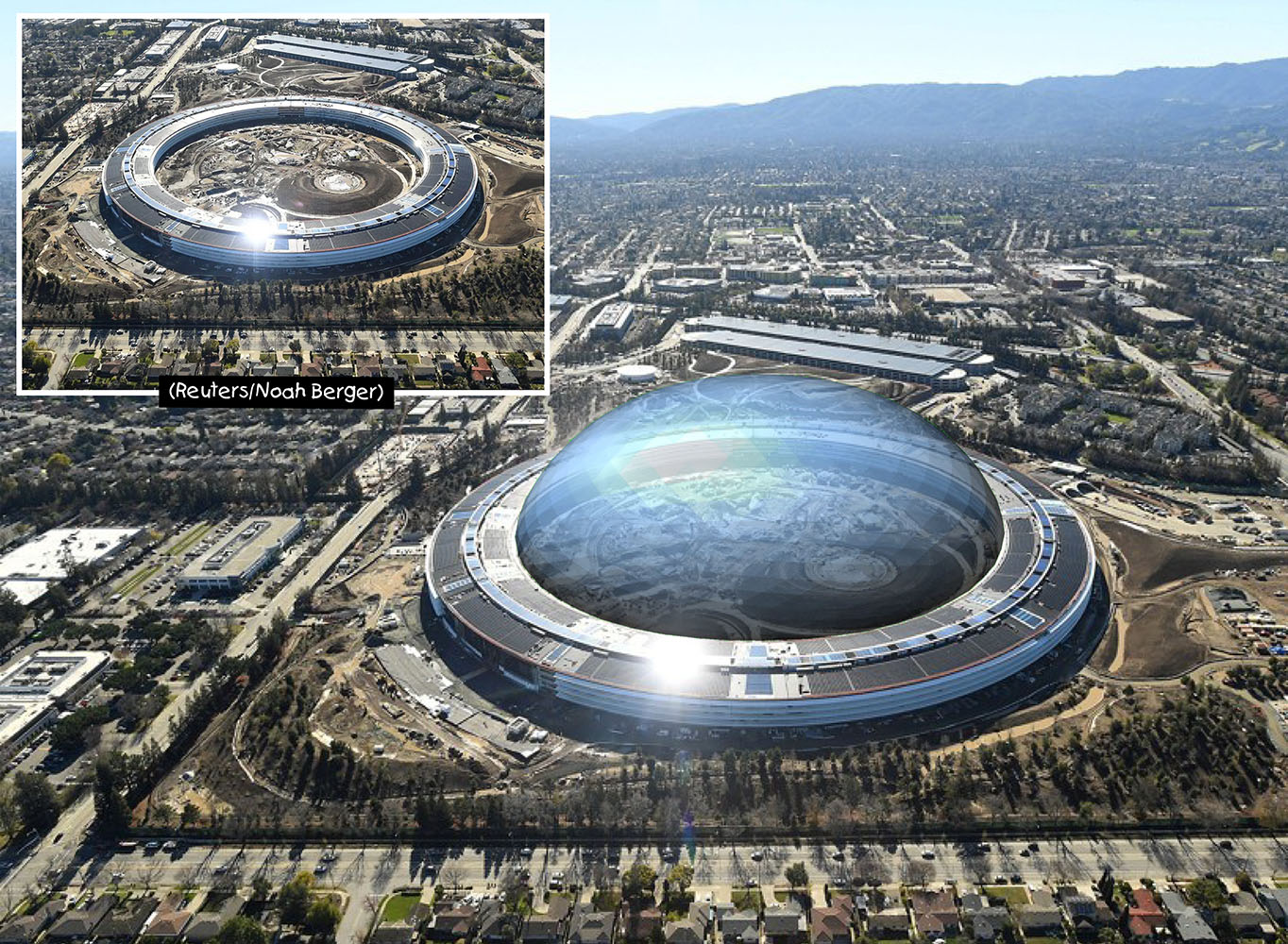 Apple Campus Dome