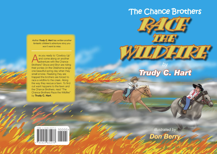 Race the Wildfire - cover